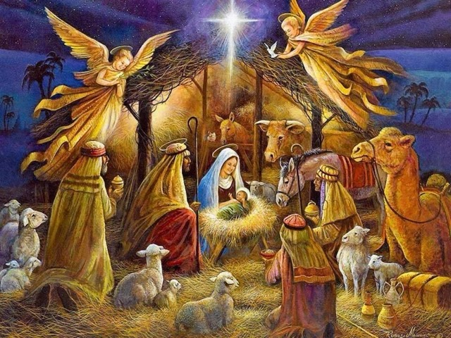 Resultado de imagen de el nacimiento de jesus