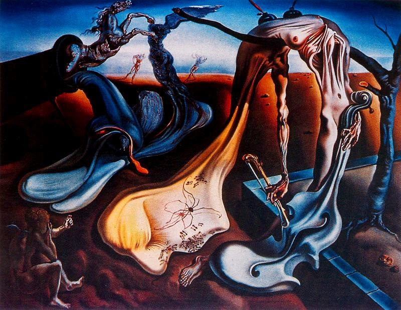 Araña de noche... Esperanza - S. Dalí