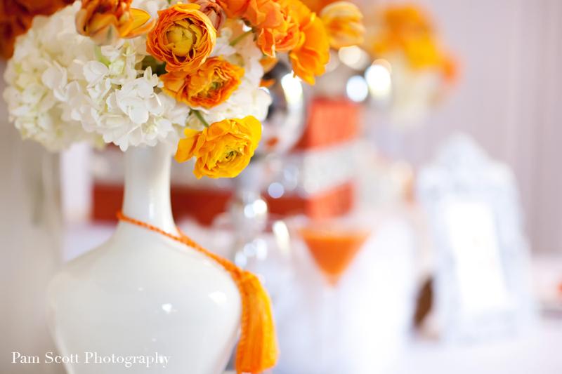Swanky white and orange inspiration fashion wedding dress for White and orange wedding dress