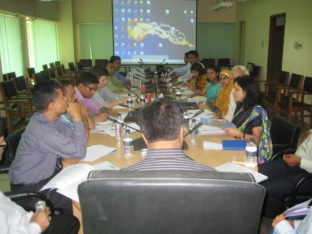 """SLDPGP Project Introduction"" with the Department of Disaster Management"