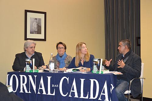 António Salvador, Zita Seabra, Maria Teixeira Alves e Francisco Gomes