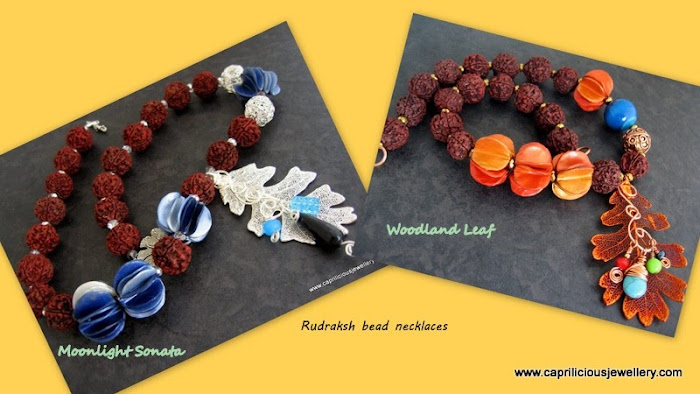 Rudraksha Necklaces by Caprilicious Jewellery