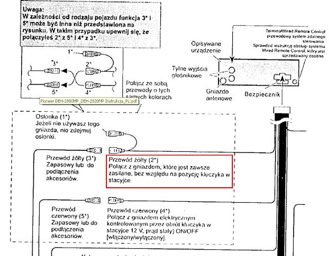 pioneer deh p6000ub user manual