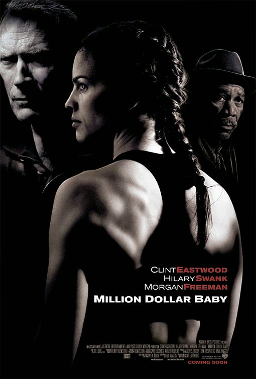 Poster Of Million Dollar Baby (2004) Full Movie Hindi Dubbed Free Download Watch Online At Alldownloads4u.Com