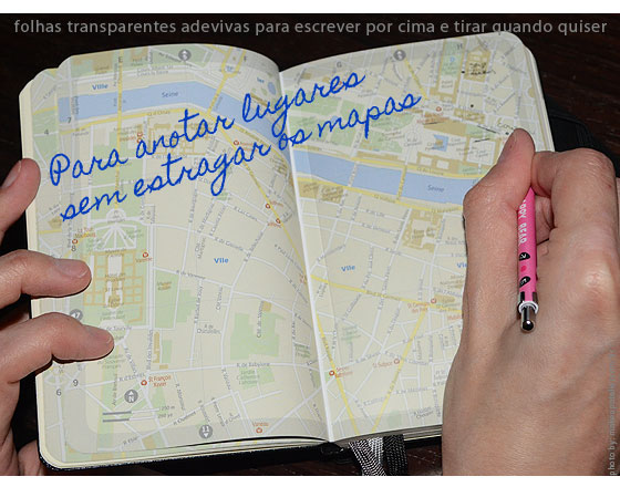 planejamento5 - Moleskines para planejar e eternizar a viagem