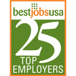 The BestJobsUSA Top 25 Employers