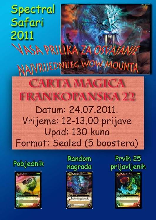 WoW Turnir: Spectral Safari 2011