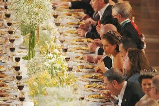 Cận cảnh bữa tiệc xa hoa chiêu đãi người đoạt giải Nobel 10