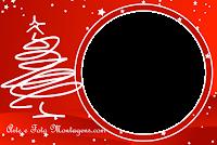 molduras-para-fotos-gratis-natal-arvore-branca-fundo-vermelho