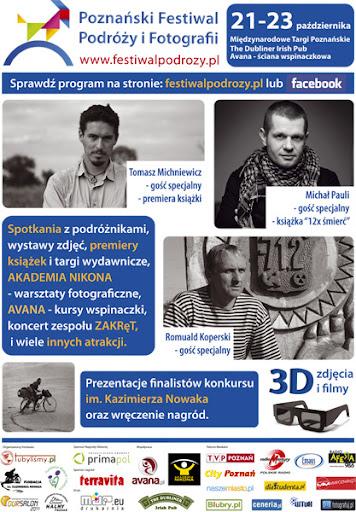 Poznański Festiwal Podróży i Fotografii - Klub Podróznik