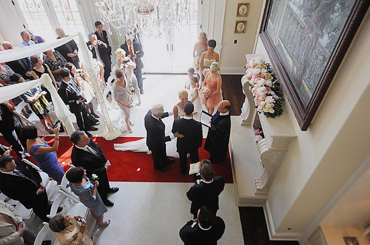 Alice in Wonderland wedding at private home in Dexter, MI