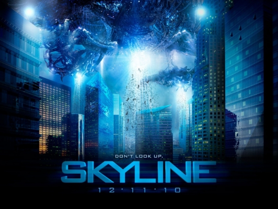 Skyline movie poster.