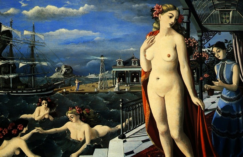 Paul Delvaux - Birth of Venus, 1947