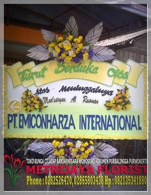 turut berdukacita dari PT. Emiconharza International
