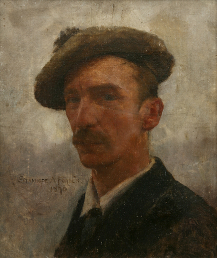 Stanhope Forbes - Self Portrait