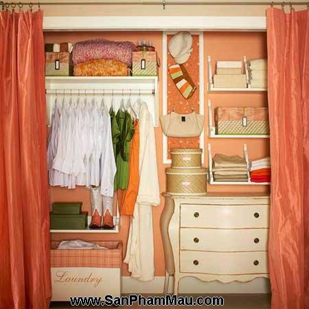 Cách trang trí tủ quần áo để được chồng khen-5