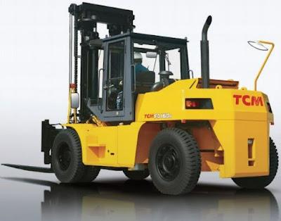 Xe nâng dầu diesel TCM 15 tấn Nhật Bản
