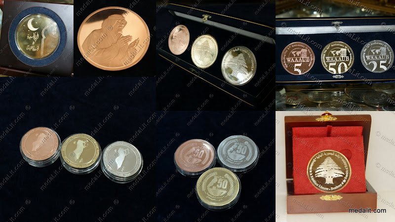Absi luxury medals: semi-prrof and 3d base relief medals