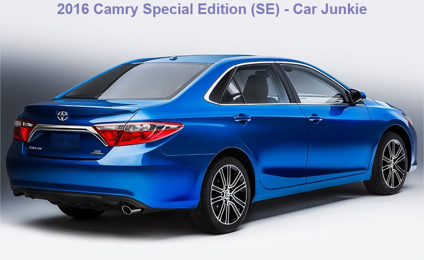 2016 Toyota Camry Special Edition Price | Camry SE