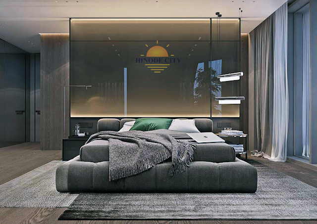 Phòng ngủ dự án 201 Minh Khai