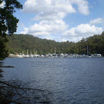 Boats on Cowan Creek (25493)