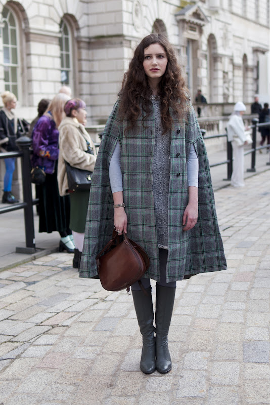 Rosalind Jana at London Fashion Week