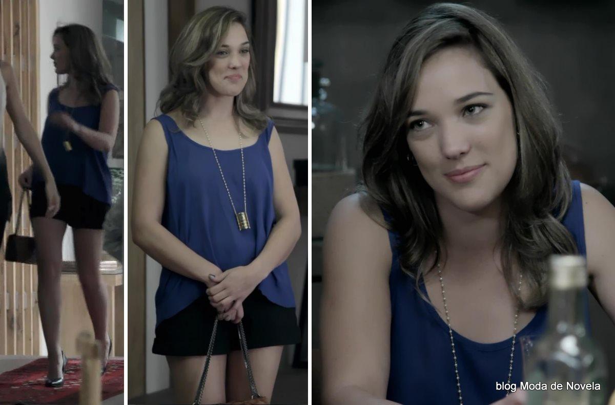 moda da novela Império, look da Amanda dia 20 de outubro