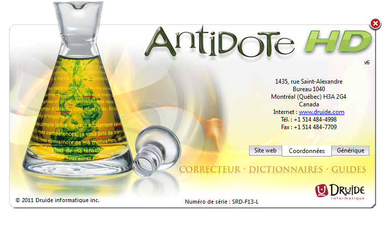 antidote hd v6