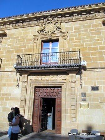 Palacio Salazar y Quintano, en la Plaza de la Paz de Labastida