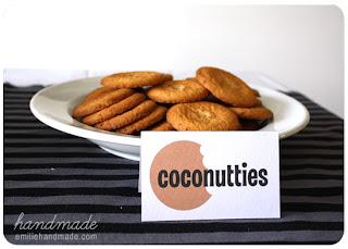 Plato con galletas.