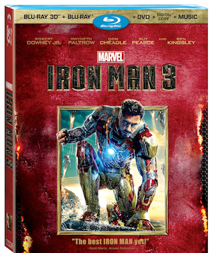 Iron Man 3 Blu-ray Combo Pack w/ Tons of Extras & Special Features #IronMan3