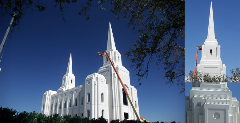 Brigham City Utah Temple, July 7, 2011