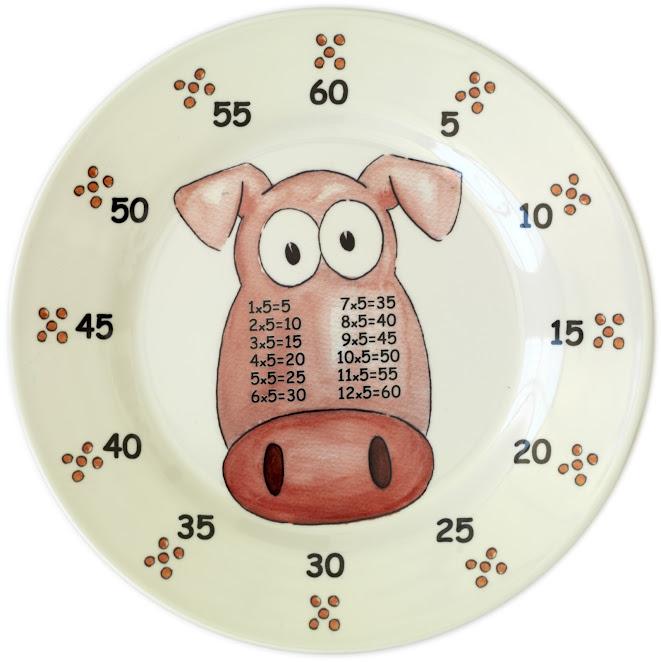 Porky FIVE Bellies plate
