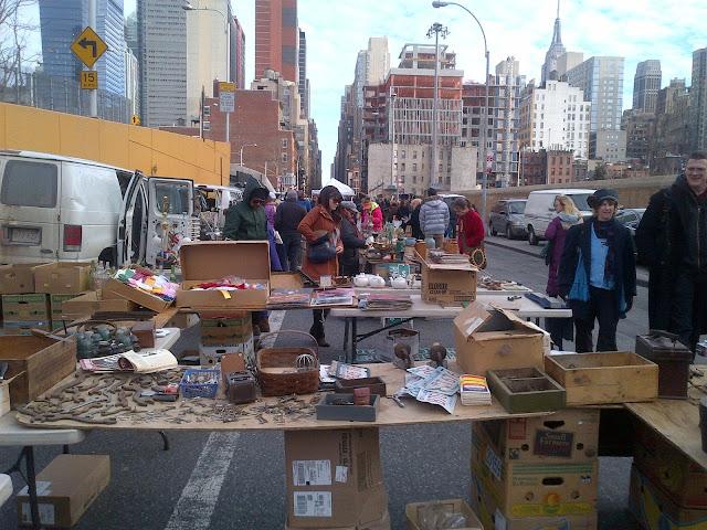Hell's Kitchen Flea Market NYC   The Workette