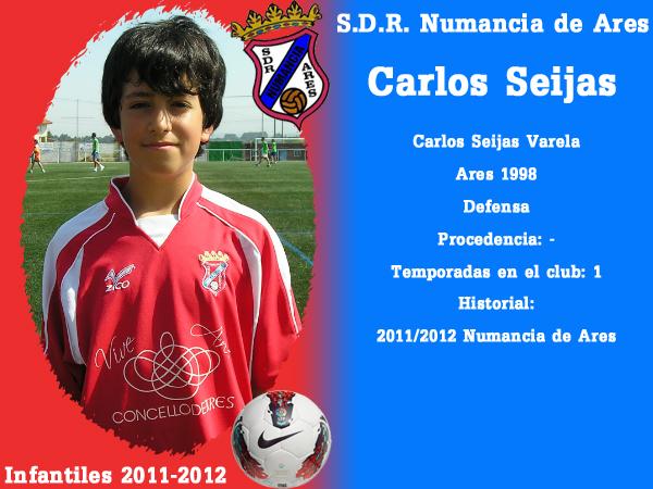 ADR Numancia de Ares. Infantís 2011-2012. CARLOS SEIJAS.