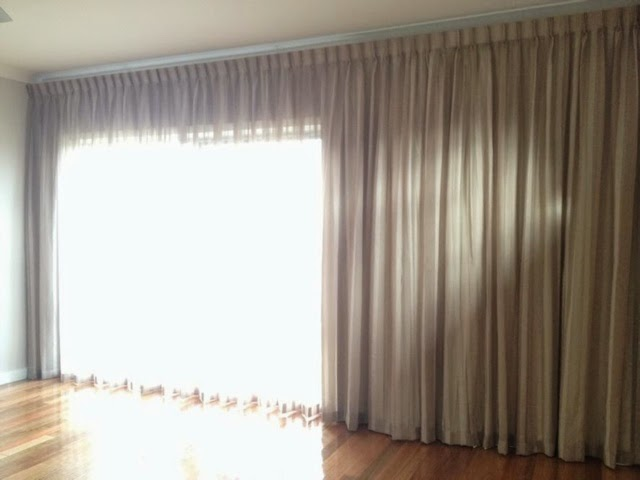full length sheer blockout curtains