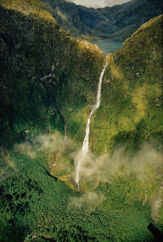 Сазерленд, Новая Зеландия, Красивые водопады планеты