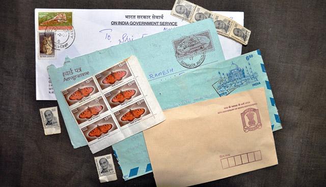 Letters in earlier times