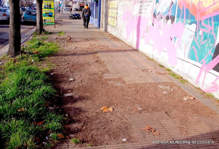 las calles de Necochea