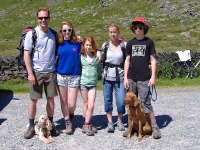 Graham, Lily, Felicity, Elsbeth & Hamish Primrose