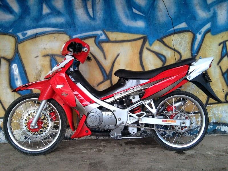 Modifikasi Motor Suzuki Satria 2 Tak