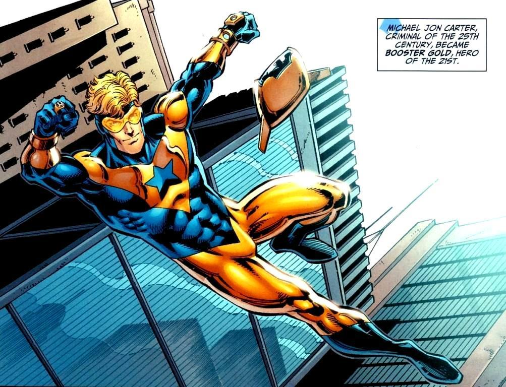 Booster Gold Superhero DC Comics