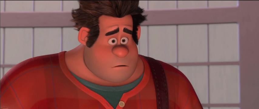 Anh chàng người xấu Ralph trong Fix it Felix, Jr