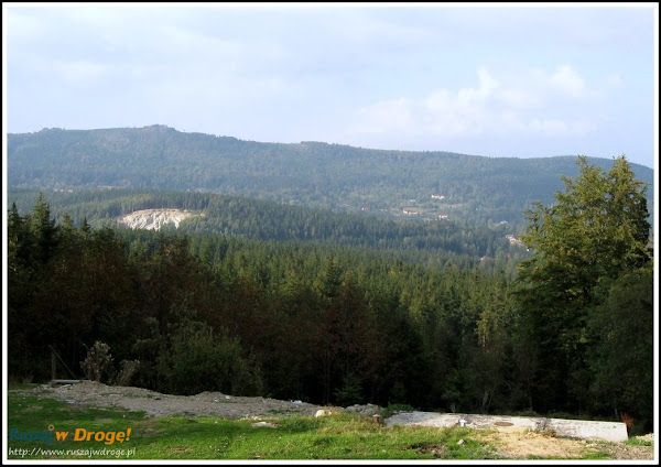 panorama z kamieńczyka latem