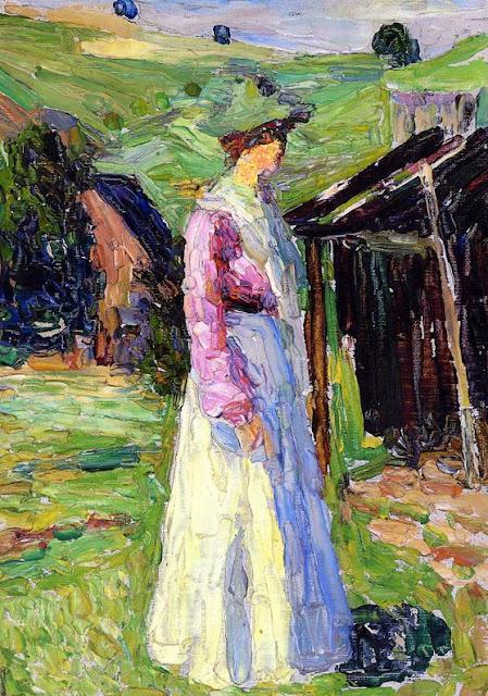 Wassily Kandinsky – Kochel - Gabriele Munter-1902