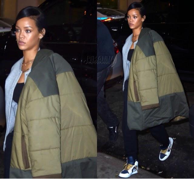 Rihanna In Isabel Marant & Alexander Wang