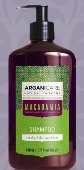 Shampoing Arganicare macadamia