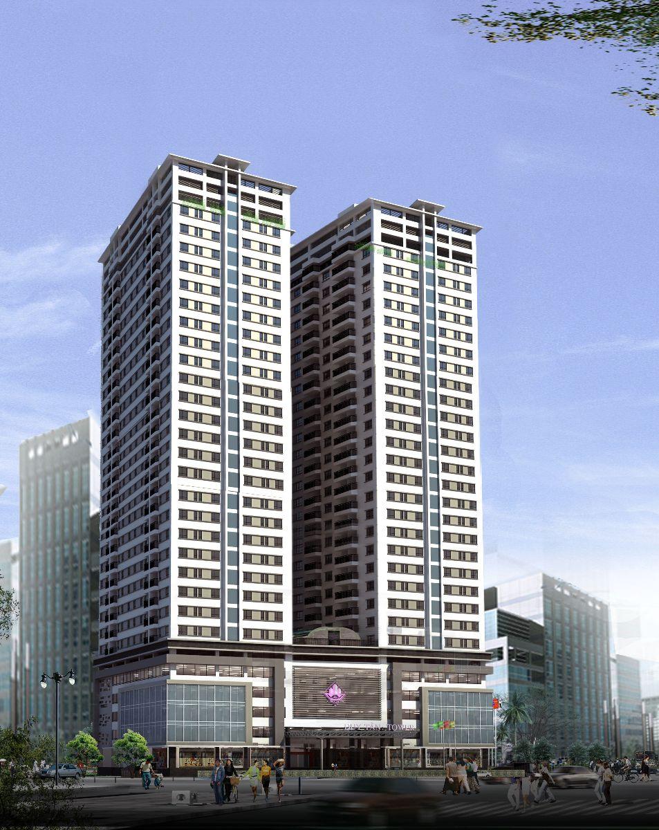 Phối cảnh chung cư Dream Land Plaza Duy Tân