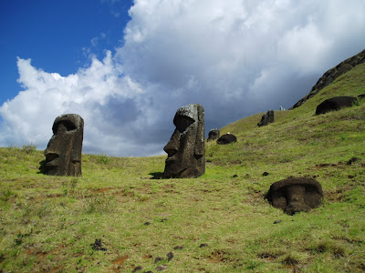 Moai Statues Wallpaper