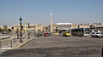 The hectic Place de la Concorde during the day